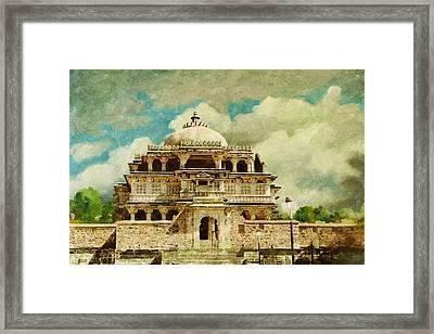 Vedi Temple In Kambalgarh Fort Framed Print by Catf