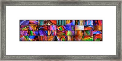 Vegas Blur Framed Print by Skip Hunt
