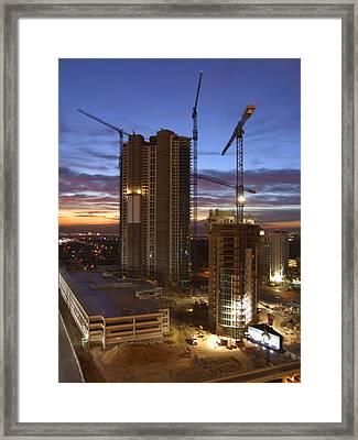 Vegas Expansion Framed Print by Mike McGlothlen