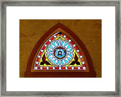 Veil Of Veronica Framed Print by Christine Till