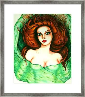 Veiled Framed Print by Tara  Shalton