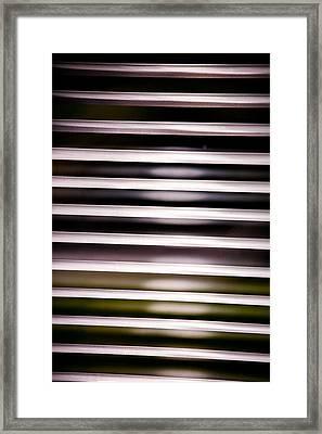 Venetian Blinds Framed Print by Hakon Soreide