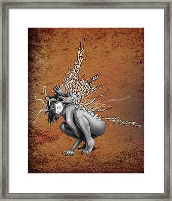 Venetian Fairy Framed Print by Kd Neeley
