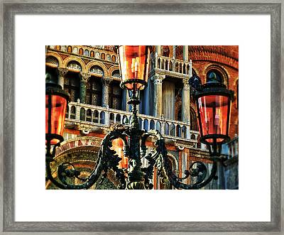 Venetian Potpourri  Framed Print by Connie Handscomb