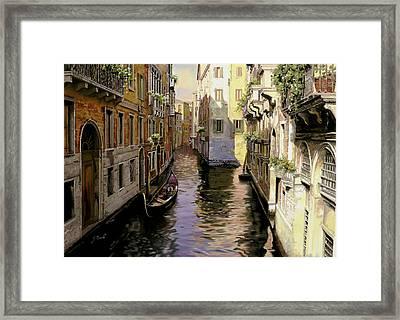 Venezia Chiara Framed Print by Guido Borelli