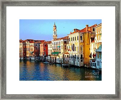 Venezia Grand Canal Framed Print by Phillip Allen