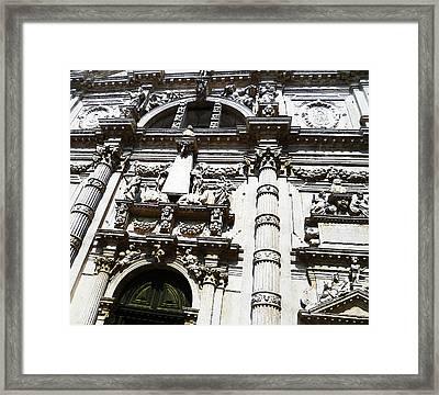 Venezia Italia Chiesa Di San Moise Framed Print by Irina Sztukowski