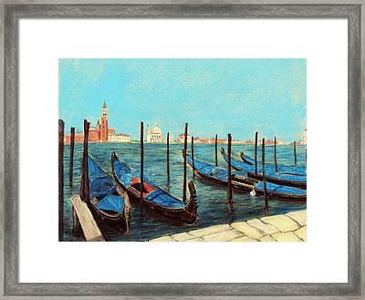 Venice Framed Print by Anastasiya Malakhova