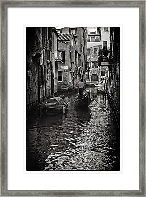 Venice Canal Memory Framed Print by Madeline Ellis