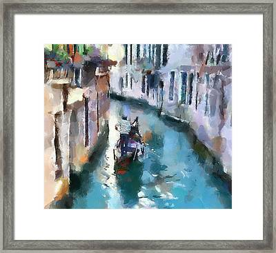 Venice Canals 6 Framed Print by Yury Malkov