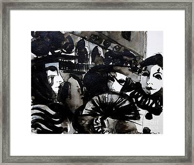 Venice Carnival 2 Framed Print by Mona Edulesco