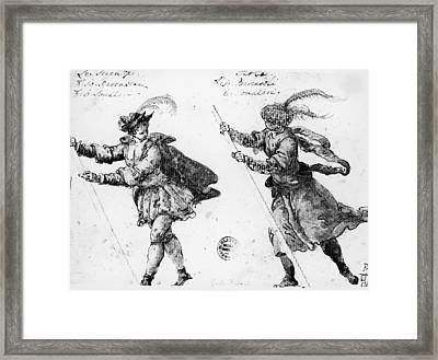 Venice Gondoliers Framed Print by Granger