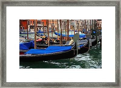 Venice Grand Canal 2 Framed Print by Bob Christopher