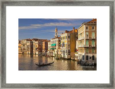 Venice Grand Canal Framed Print by Brian Jannsen