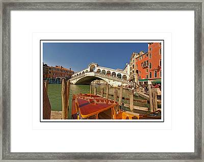 Venice Italy Ver.16 Framed Print by Larry Mulvehill