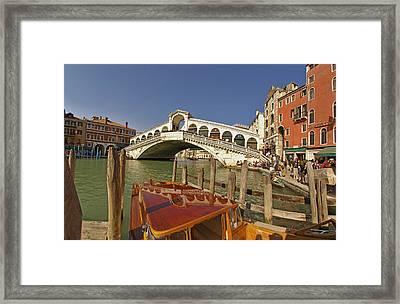 Venice Italy Ver.17 Framed Print by Larry Mulvehill