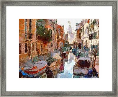 Venice Nature Framed Print by Yury Malkov