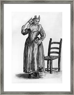Venice Prostitute Framed Print by Granger
