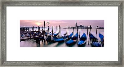 Venice Framed Print by Rod McLean