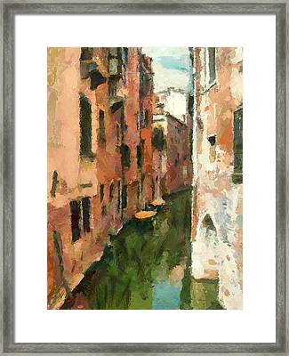 Venice Today 17 Framed Print by Yury Malkov