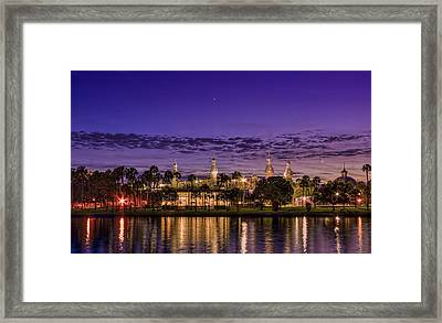 Venus Over The Minarets Framed Print by Marvin Spates