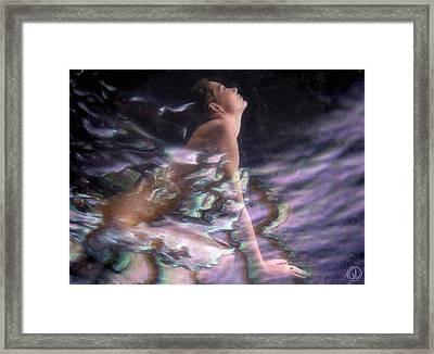Venus Rising Framed Print by Gun Legler