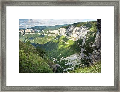 Vercors Massif Framed Print by Bob Gibbons
