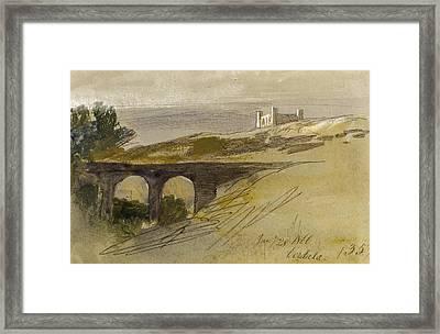 Verdala Malta Framed Print by Edward Lear