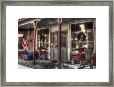 Vermont Country Store Framed Print by Joann Vitali