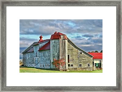 Vermont Rustic Beauty Framed Print by Deborah Benoit