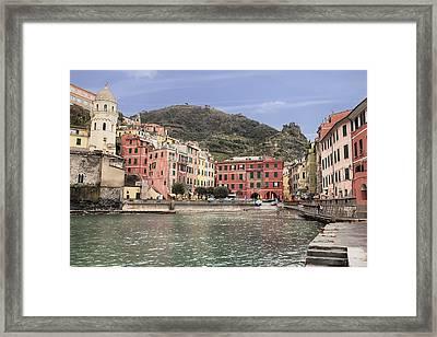 Vernazza Framed Print by Joana Kruse