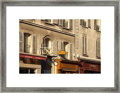 Versailles Facade Framed Print by Art Ferrier