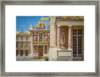 Versailles Splendor Framed Print by Inge Johnsson