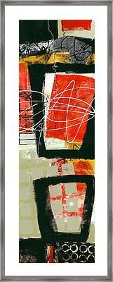 Vertical 1 Framed Print by Jane Davies