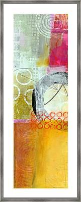 Vertical 4 Framed Print by Jane Davies
