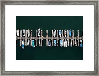 Vertical Alignment Framed Print by Shoayb Hesham Khattab