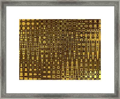 Vertical City Framed Print by David Winson