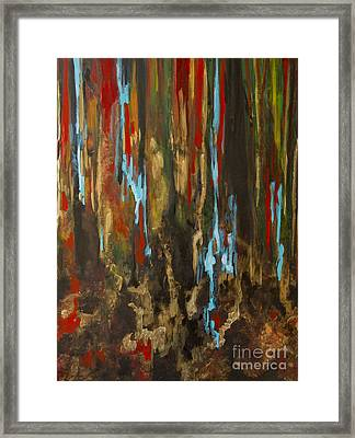Vertical Framed Print by Olga Zamora