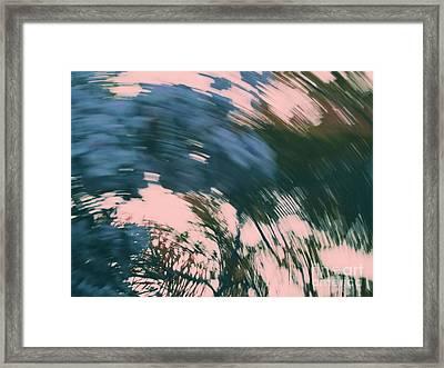 Vertigo In Turquoise Framed Print by Irina Wardas