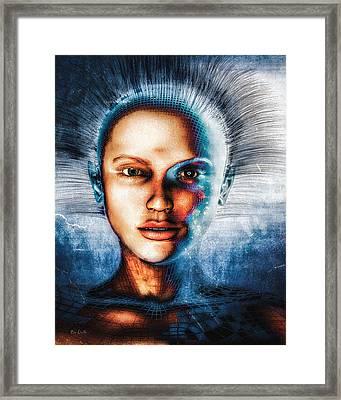 Very Social Network Framed Print by Bob Orsillo