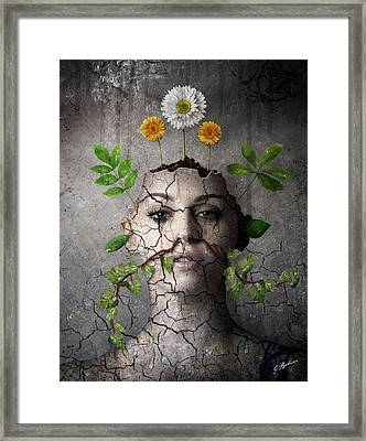 Broken Vessel Framed Print by Gary Bodnar