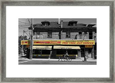 Vesta Lunch 1c Framed Print by Andrew Fare
