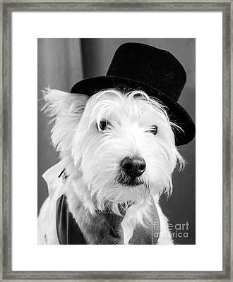 Veteran Vaudeville Stage Actor Framed Print by Edward Fielding