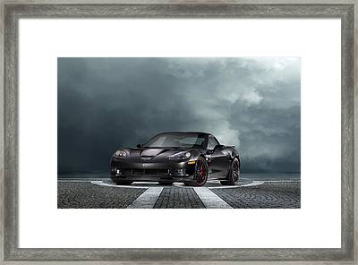 Vette Dream Framed Print by Peter Chilelli