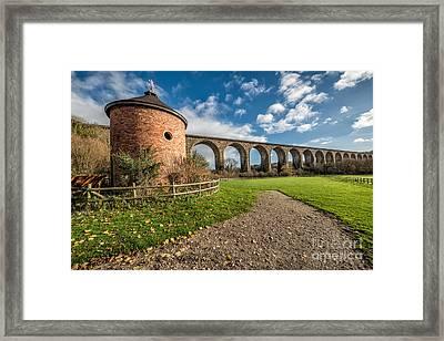 Viaduct Ty Mawr Park Framed Print by Adrian Evans