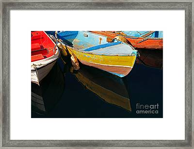Vibrancy At Puerto De Morgan. Framed Print by Pete Reynolds