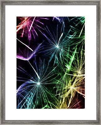 Vibrant Wishes Framed Print by Marianna Mills