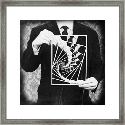 Vicious Circle Framed Print by Taylan Soyturk