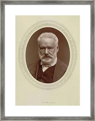 Victor Hugo Framed Print by British Library