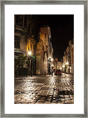 Victor Sackville In The Dark Framed Print by Juli Scalzi